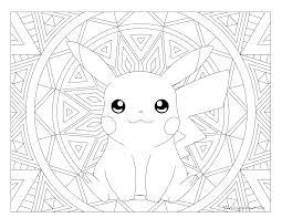 025 Pikachu Pokemon Coloring Page Windingpathsart Com