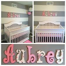 wall letter nursery decor nursery wall decor nursery decor hanging nursery letters