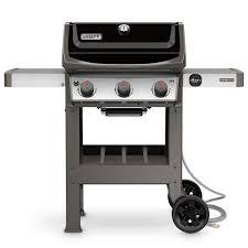 weber spirit ii e 310 3 burner natural gas grill in black