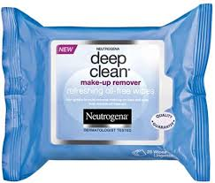 neutrogena deep clean makeup remover wipes 12 x 25 count
