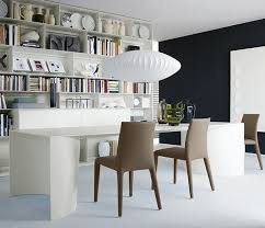 check the grey feature wall and saucer lamp by george nelson