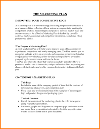marketing plan outline example job bid template 5 marketing plan outline example