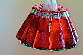 clever contemporary modern campari 10 bottle italian modern pendant chandelier light fixture red