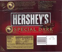 hershey dark chocolate bar nutrition facts. Contemporary Bar Hersheyu0027s Special Dark For Hershey Chocolate Bar Nutrition Facts C