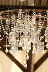ason jar light wagon wheel and crystals the unexpected combination just works 25 creative ways to