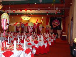 image of carnival decoration supplies