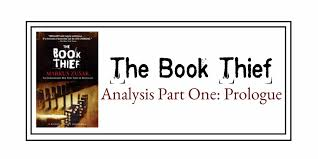the book thief analysis prologue over analysing literature