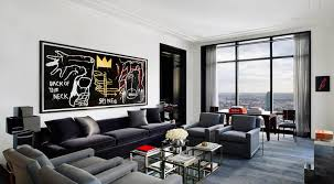 Modern Apartment Living Room Ideas Painting Unique Decoration