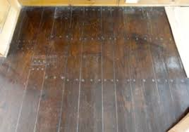 refinish face nailed wood floors
