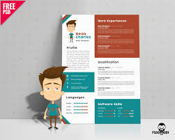 Photoshop Resume Template Psd Free Photoshop Resume Templates Download Now Download Free Designer 18