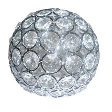 style selections ladura 4 in h 4 75 in w crystal globe vanity light shade