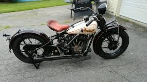 vintage indian motorcycle custom paint by chester