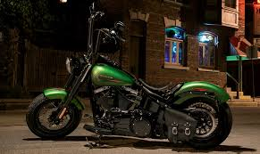 green softail