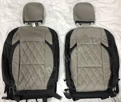 2018 jeep wrangler sahara jl katzkin leather seat cover kit black gray tekstitch