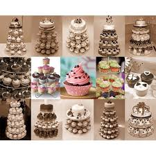 Party Food Display Stands Enchanting 32 PC Acrylic Cake Dessert Tower 32 Tier Round Cupcake Stand Party
