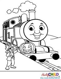 Thomas Train Coloring Page Residence The Tank Engine Sheets 1