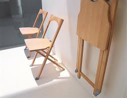 wooden padded folding chairs