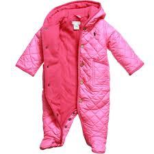 RALPH LAUREN Baby Girls Pink Quilted Snowsuit - Children Boutique & ... Ralph Lauren Baby Girls Pink Quilted Snowsuit2 ... Adamdwight.com