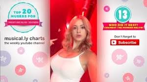 Musical Ly Charts Your Weekly Youtube Channel Zagonproxy Yt