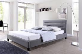 upholstered bed frame. Amazon.com: Baxton Studio Hillary Fabric Upholstered Platform Bed, King, Grey: Kitchen \u0026 Dining Bed Frame R
