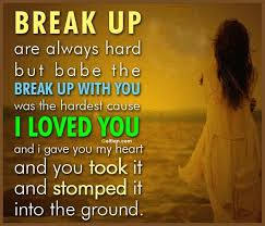 Sad Breakup Quotes Cool Sad Breakup Pics And Quotes Mojly