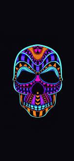 Free download skull dark minimal 4k ...