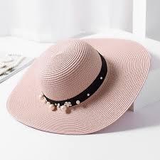 Womens\u0027 Wide Brim . Straw Hat Floppy Foldable Roll up Sun Beach