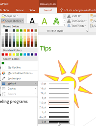 The draw tab is available in word, excel, and powerpoint. Powerpoint 2016 Shapes