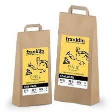 🐱 Analyse et infos sur Franklin Adulte Dinde, patate douce, canneberge  (croquettes pour chat) 🐶