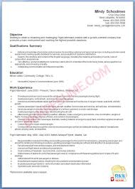 Cover Letter For Flightendant With No Experience Resume Motivational