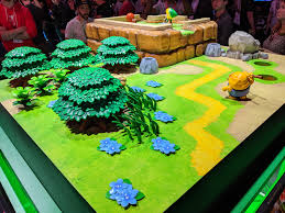 From link's awakening displays, to luigi's mansion 3 statues, to a variety of colorful demo booths, you can easily get an. Legend Of Zelda Links Awakening Booth At E3 2019 Album On Imgur