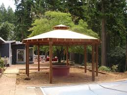 Fire Pits And Patios Green Thumb Landscaping Gazebo With Fire Pit Cool Fire Pits Fire Pit Landscaping