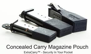 Shield Magazine Holder SW MP Shield 100mm Concealed Carry Magazine Pouch Extended 100 2