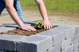how to build a stone planter western