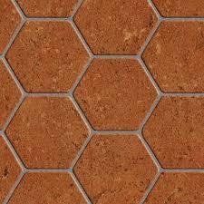 hexagon terracotta tile hr full resolution preview demo textures architecture tiles interior terracotta tiles hexagonal terracotta