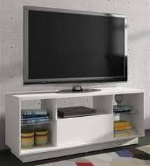 modern tv cabinets. mieko entertainment unit in white finish modern tv cabinets