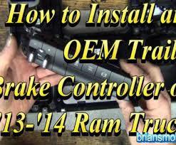 14 perfect 2014 dodge trailer brake controller wiring diagram 2014 dodge ram trailer brake controller wiring diagram 2014 brake controller factory type install