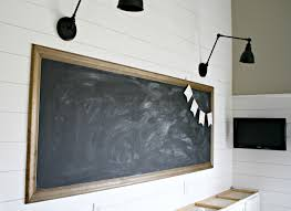 large diy chalkboard