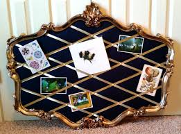 How To Make A French Memo Board Simple DiY Mirror Repurpose French Memo Board The Inkling Endeavor