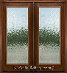 1 lite flemish glass patio doors