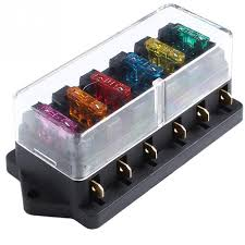 cheap fuse box circuit fuse box circuit deals on line at 1pc 6 way safe fuse box cases car vehicle circuit automotive blade fuse box block fuse