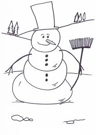 Small Picture Beautiful Free Printable Snowman Coloring Pages Ideas Coloring
