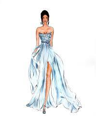 Fashion Illustration By Olivia Elery эскизы девушек модные
