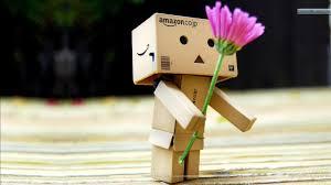 amazon box cute. Modren Cute Amazon Box Robot Endless Disconnect 3 In Amazon Box Cute T