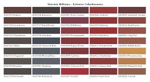 Sherwin Williams Exterior Paint Chart Sherwin Williams Paints Sherwin Williams Colors Sherwin