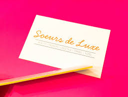 What To Put On Blog Business Cards Sœurs De Luxe
