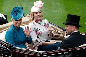 Zara tindall said she was 'uncomfortable' at meghan markle and prince harry's wedding while pregnant and joked it 'probably showed on my face'. Zara Tindall S Best Style Moments Queen Elizabeth S Granddaughter Zara Phillips Pictures