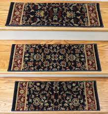 179166 traditional 2 3 x 9 inches polypropylene stair treads navy