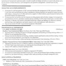 Cover Letter Military Resume Writing Military Resume Building