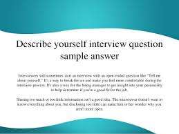 describing yourself essay co describing yourself essay